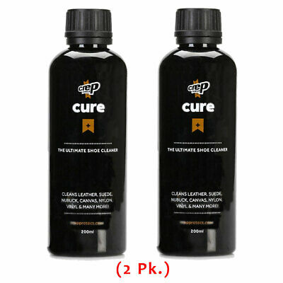 Crep Protect Ultimate Shoe Cleaner (2 Bottles) Athletic Sneaker Kicks Shoe Care