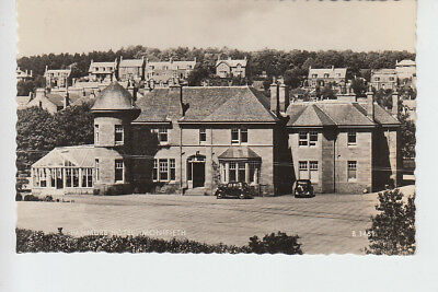 Elevated view of Panmure Hotel, Monifieth, Angus