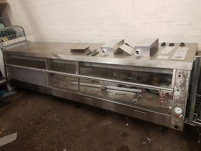 Henny Penny HCS5 heated display, commercial kitchen catering takeaway equipment