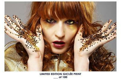 Giclee Art Print Poster 18x12 inch Florence & the Machine Photo