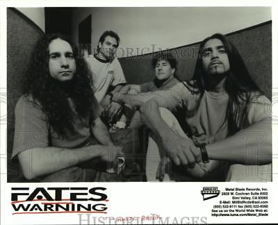 1997 Press Photo Members of the music group Fates Warning - hcp03528