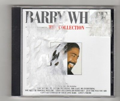 (IP328) Barry White, The Collection - 1988 CD