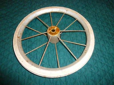 Repair Part For Old Baby Buggy Or Scooter Wire Spoke Wheel/ Hard White Rubber
