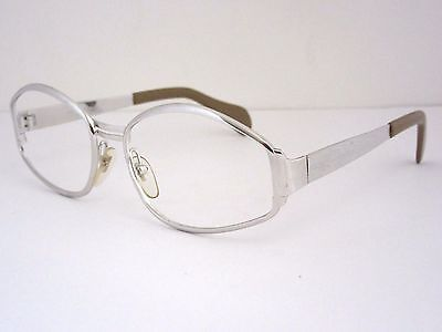NEOSTYLE ROTARY White Gold Eyeglass Frames, Ladies, Early Vintage Germany NOS