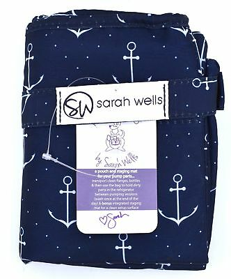 Sarah Wells Pumparoo Wet Dry Bag with Staging Mat