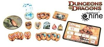 Dungeons & Dragons D&D 4th Ed Barbarian Token Set/Invisibility Stand-Up GF972710