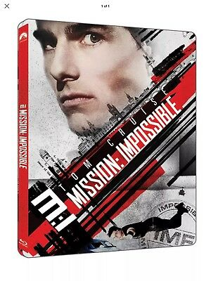 Mission Impossible 1 (Limited Edition Steelbook - ***BLU RAY ONLY***