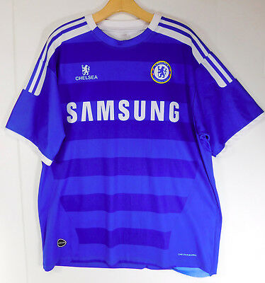 the latest c344e 51252 CHELSEA FOOTBALL CLUB Soccer JERSEY SAMSUNG Blue Shirt Official Logo Patch  L/XL