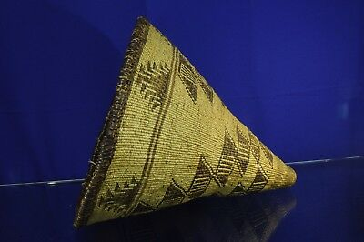 "Fine Pit River Indian Burden Basket -  14"" x 18"" c. 1890"