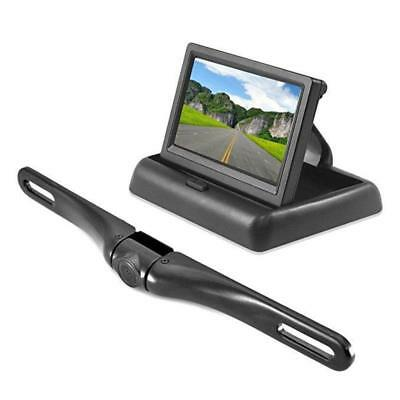 """Pyle- Backup Rear View Car Camera Monitor Screen System 4.3"""" LCD Video Color Dis"""