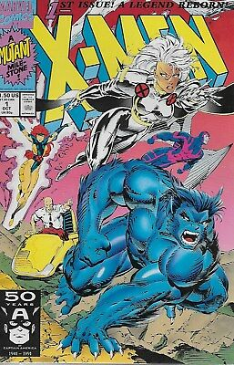 X-Men No.1 / 1991 Storm and Beast Cover / Chris Claremont & Jim Lee