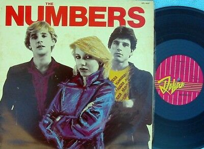 Numbers ORIG OZ ST LP EX '80 Deluxe VPL16527 New wave Power Pop