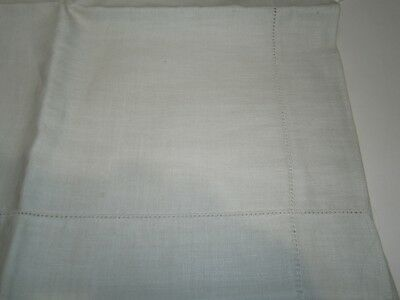 Vintage Blank Linen Supper Cloth For You To Transfer &  Embroider