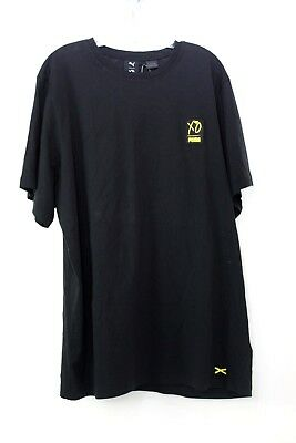 Puma XO by The Weekend Men s Size XL Black Gold Graphic Black T-Shirt bd9a59319