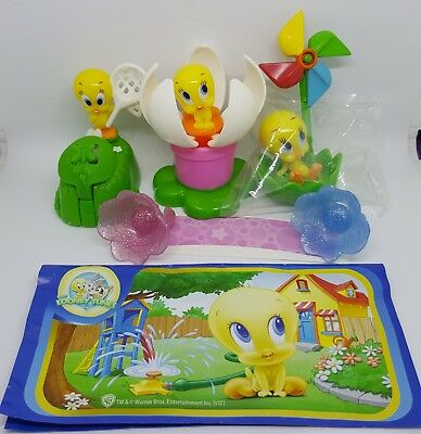 Maxi Kinder 2017, Tweety, compl. set with all Bpz