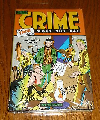 Crime Does Not Pay Archives Volume 9, SEALED, Dark Horse Comics hardcover, Biro