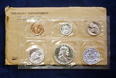 1955 U.S. PROOF SET. Flat Pack.