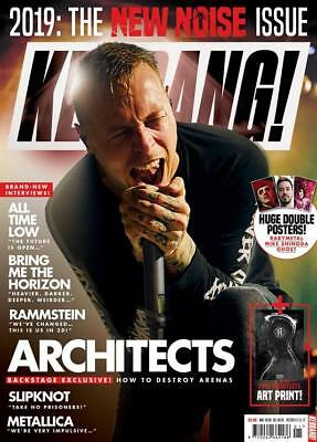 UK KERRANG! January 2019: ARCHITECTS Babymetal RAMMSTEIN Bring Me The Horizon