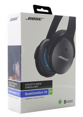 BOSE QuietComfort 25 for Samsung & Android QC25 Noise Cancelling Headphones NEW
