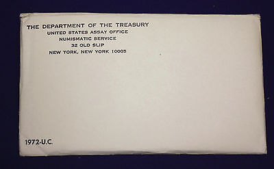 1972 UNCIRCULATED Genuine U.S. MINT SETS ISSUED BY US MINT