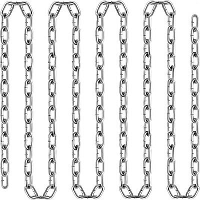 Brand New 1/4ft Coil Chain ElectroGalvanized 100Ft Grade 30