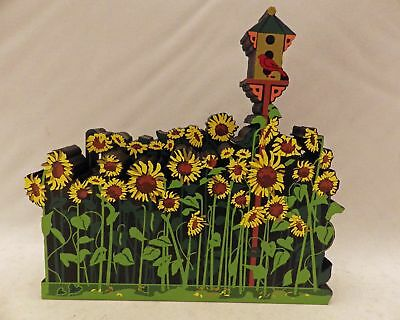 Shelia's Collectibles - Sunflower Field - 1997 Artist Choice - part # ACL21