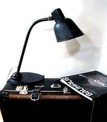 Christian Dell Adjustable Desk Work Lamp Lampe Bünte & Remmler BuR Bauhaus 1930s