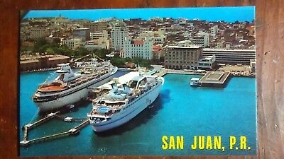 San Juan, PR - Cruise Ships at Port