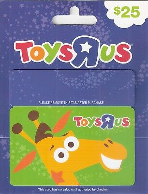 Toys R Us Gift Card Geoffrey Giraffe  Collectible New No Cash Value
