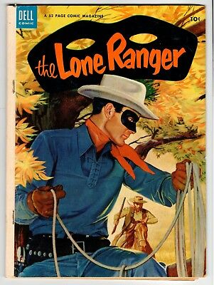 THE LONE RANGER #74 - Dell 1954 VG/FN Vintage Comic