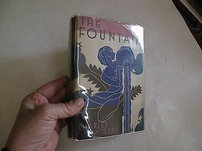 The Fountain British Charles Morgan First Edition Literature 1932 Dust Jacket