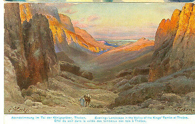 Aegypten Landscape In The Valley Of Kings Tombs Thebes Pre20 (382-25)