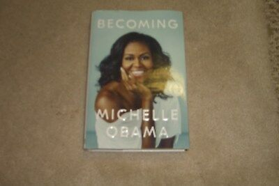 Becoming Michelle Obama - A Memoir Hardcover Book Brand New