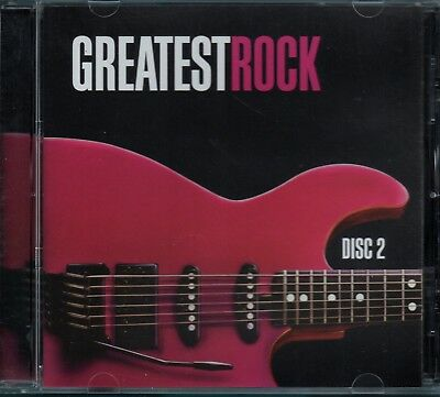 GREATEST ROCK - Various Artists - CD Album (Volume 2)