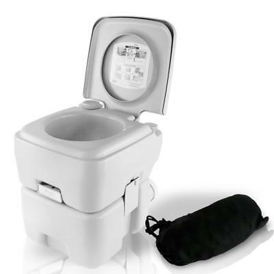 SereneLife Portable Toilet - Outdoor & Travel Toilet, 5.3 Gal. (SLCATL120)