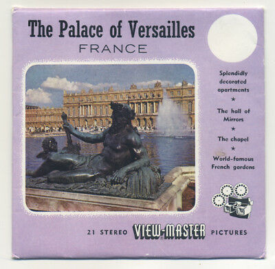 Palace of VERSAILLES France ViewMaster Packet C-174-E English edition