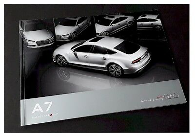 2016 16' AUDI A7 S7 RS7 Deluxe Showroom Sales Brochure 59pages