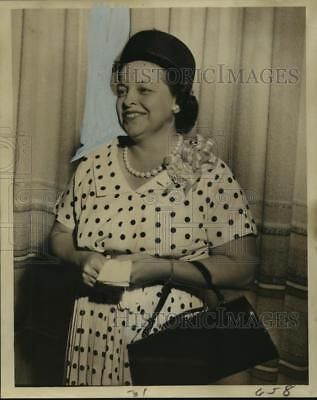 1961 Press Photo Mrs. Eldon Durand,St. Mary's Dominican Mothers' Club president