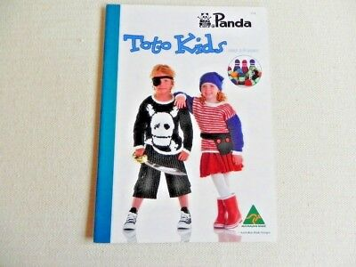 Panda Toto Kids Pattern Book for sizes 2 - 8years