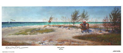 Pirate Justice ~ Don Maitz Signed Maritime Deserted Island / 1 Bullet Art Print