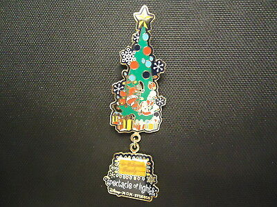 Disney Wdw Osborne Spectacle Of Lights 2002 Goofy In Christmas Tree Pin Le 5000