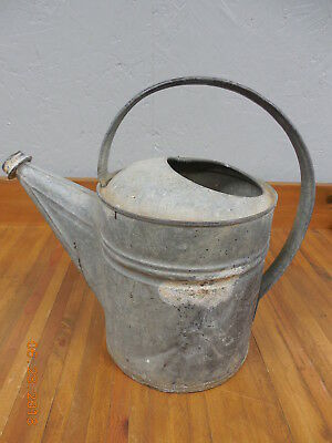 Vintage Galvinized Watering Can Home & Garden Decor  @
