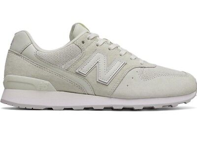 37fc9fa70862 NEW IN BOX New Balance Shoes 696 Suede Sneaker in Sea Salt WL696WPB sz 5