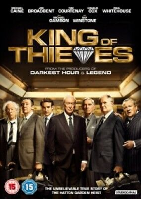 King of Thieves (Michael Caine Charlie Cox Michael Gambon) New DVD