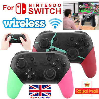 2 Colours Bluetooth Wireless Gamepad Joystick Pro Controller For Nintendo Switch