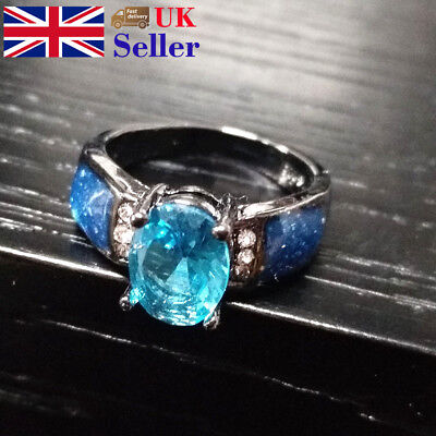 Ring Rinestone Filling Retro Grain Engagement Vintage Party Brial Women Men