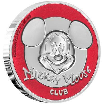 Niue Islands 5 $ - 2 Oz Silber Mickey Mouse™  Mickey Mouse Club™ 2019 Ultra  Hig