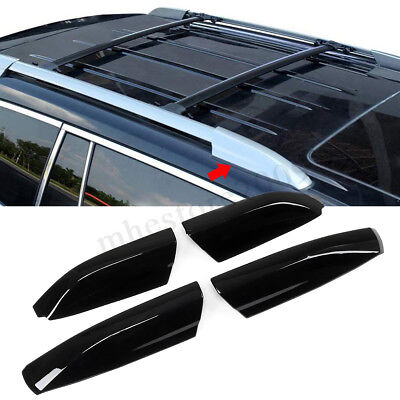 4x Roof Rack Rail End Cover Shell Protector For Toyota Highlander XU40 2008-2013