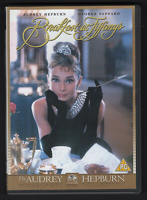 Breakfast at Tiffany's DVD Diamants sur canapé Audrey Hepburn George Peppard