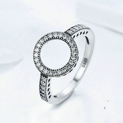 Women Ladies Fashionable Love Hearts Finger Rings Jewelry Accessories Gift B